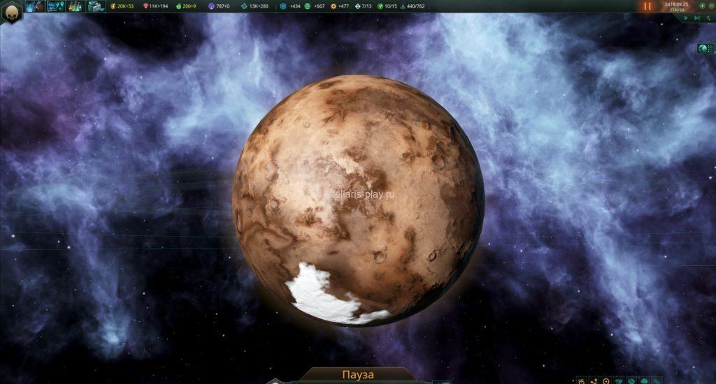 Кандидаты на терраформирование в stellaris