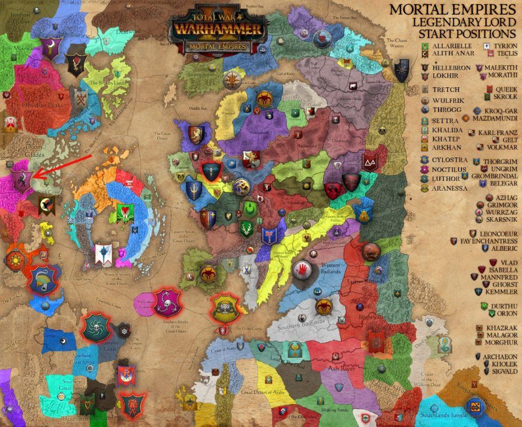 Культ удовольствий Warhammer total war 2
