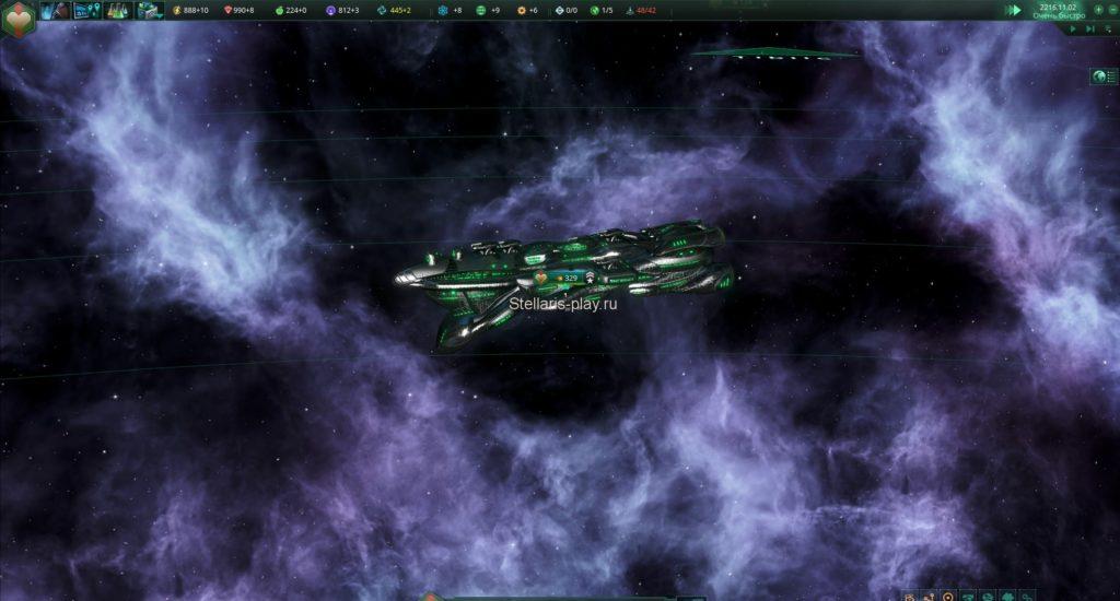 крейсер-мощный корабль вашего флота