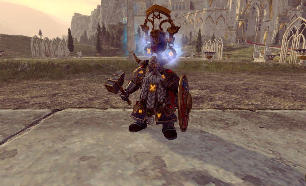 Белегар Железный молот лорд warhammer 2