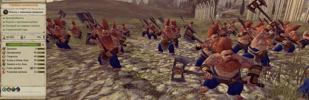 Войска в игре warhammer