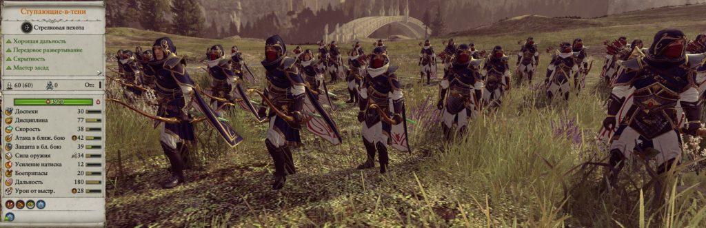 Ступающие в тени армия высших эльфов