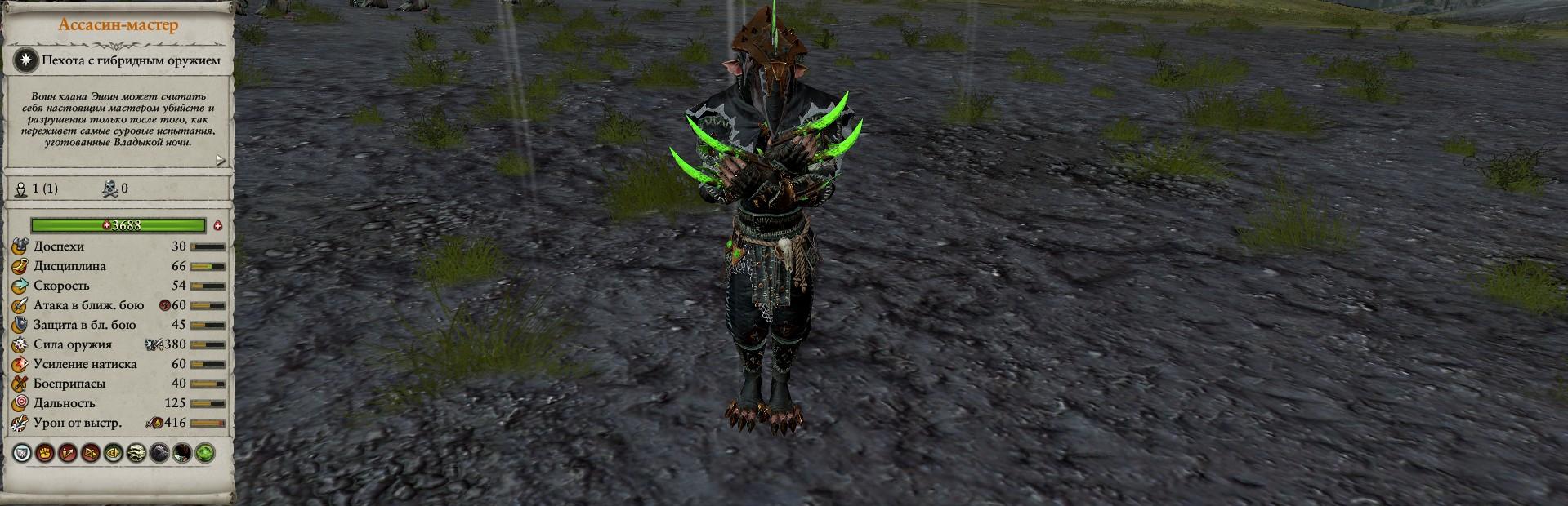 Ассасин-мастер warhammer