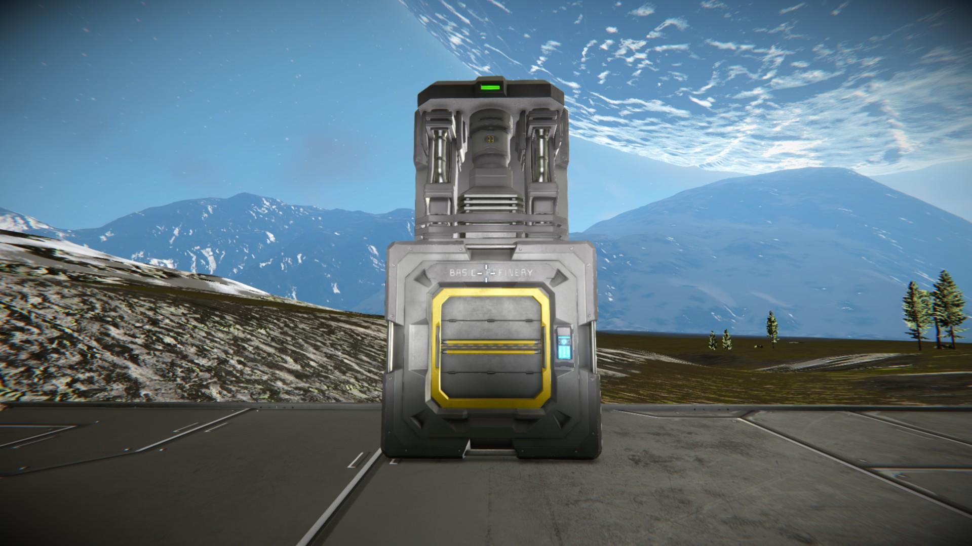 space engineers базовый очиститель