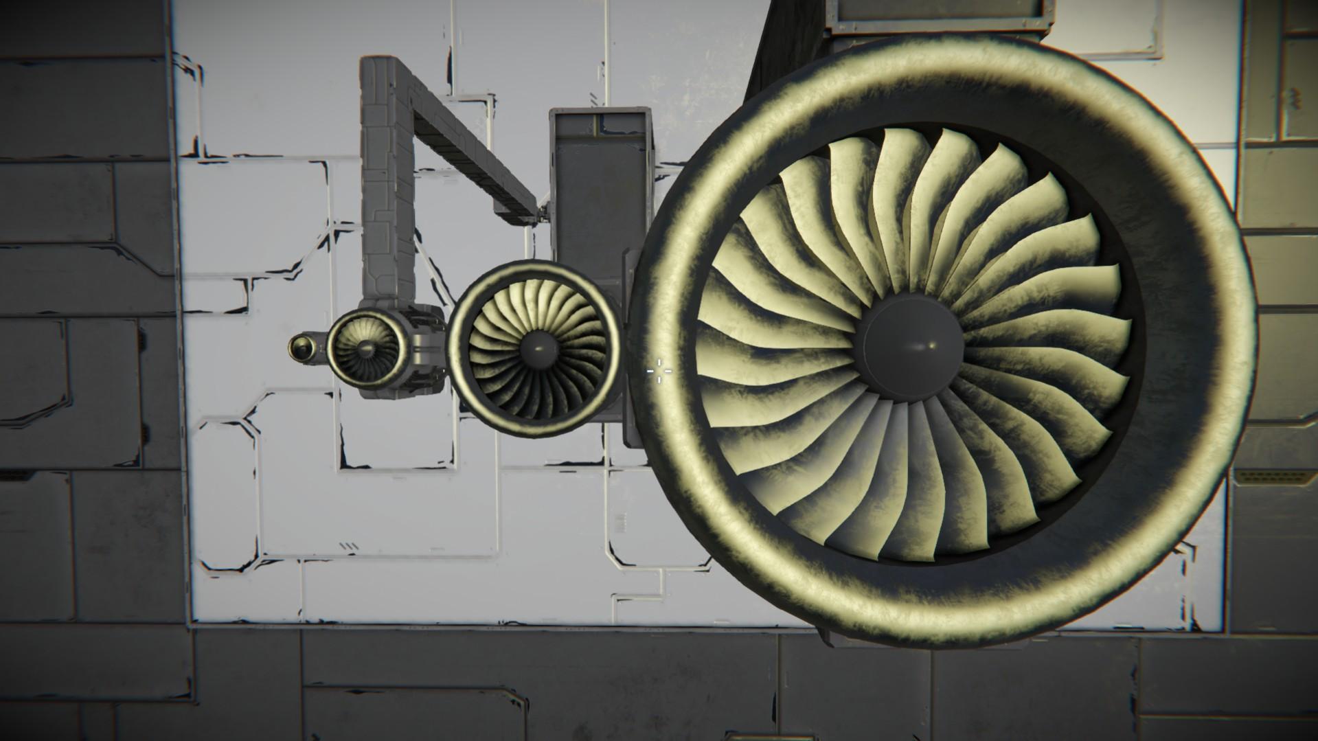 Двигатели Space engineers