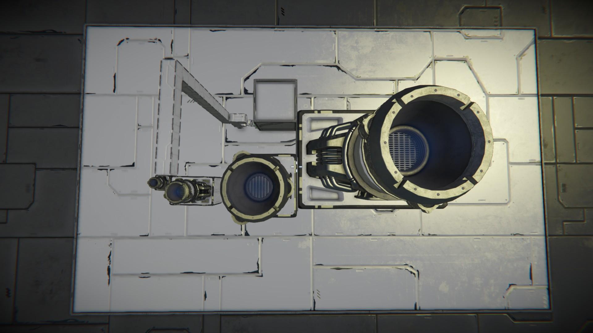 Водородные двигатели space engineers