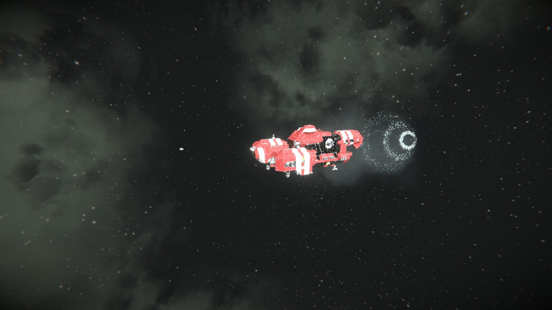 space engineers варп