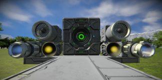 Двигатели в Space Engineers