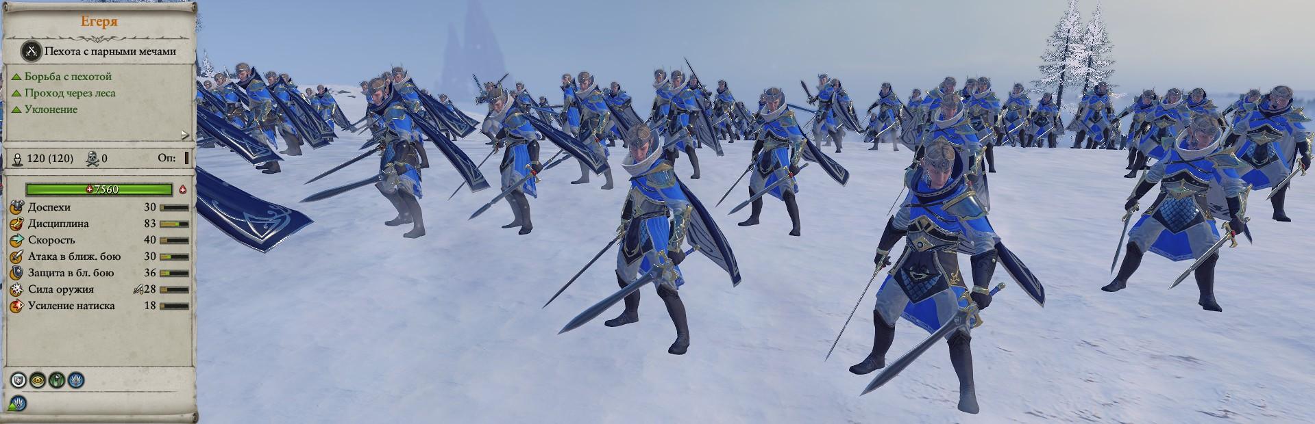 Егеря отряды warhammer total war 2