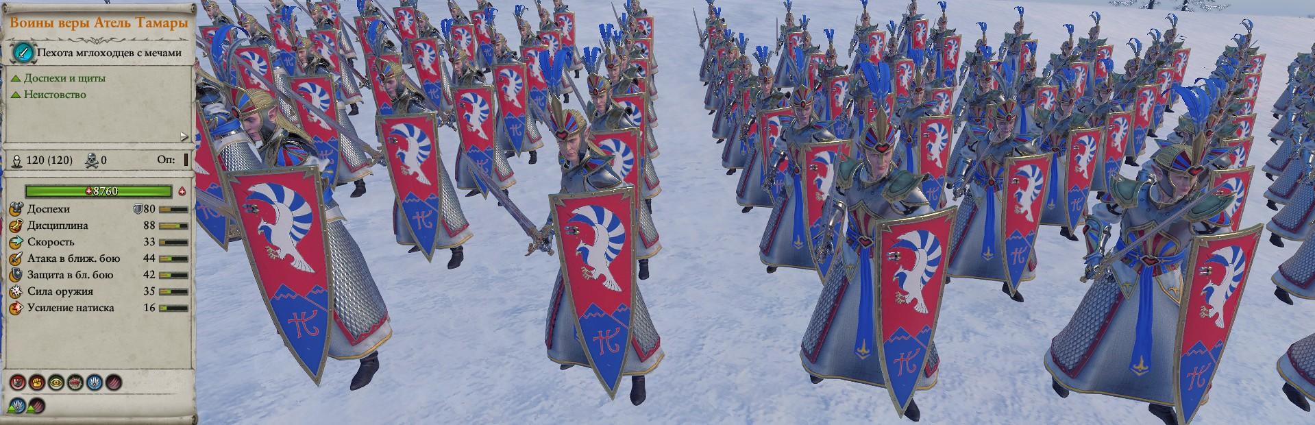 Воины веры Атель Тамары отряд